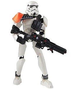 Blocos de Montar Stormtrooper Comander 100 peças - Star Wars
