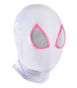 Máscara Spider Gwen Alta Qualidade - Marvel