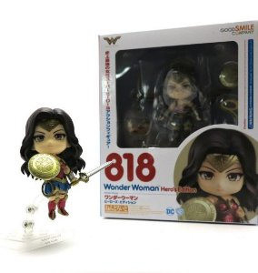 Action Figure Nendo Mulher Maravilha - Dc Heroes