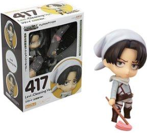 Action Figure Nendo Levi Versão Cleaning - Attack on Titan