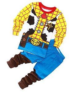 Pijama Xerife Woody Infantil