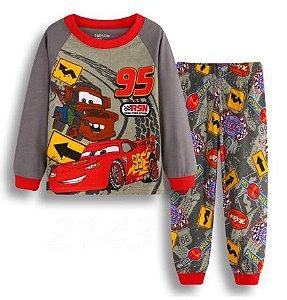 Pijama Carros Infantil