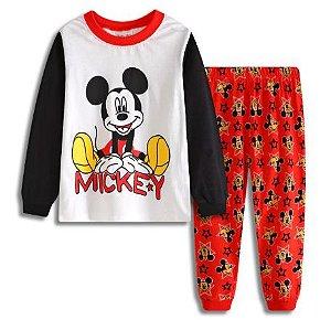 Pijama Mickey Ver. 2 Infantil