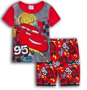 Pijama Curto Relâmpago McQueen Ver. 2 Infantil