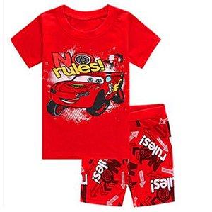Pijama Curto Relâmpago McQueen Ver. 3 Infantil