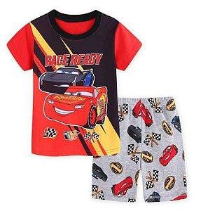 Pijama Curto Carros Ver. 2 Infantil