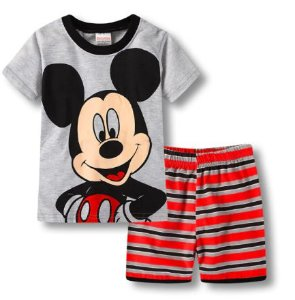 Pijama Curto Mickey Infantil