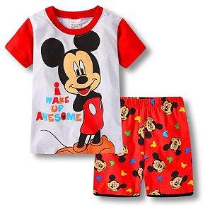 Pijama Curto Mickey Ver. 2 Infantil