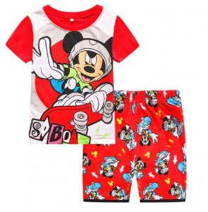 Pijama Curto Mickey Ver. 3 Infantil