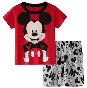 Pijama Curto Mickey Ver. 4 Infantil