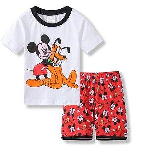 Pijama Curto Mickey Ver. 6 Infantil