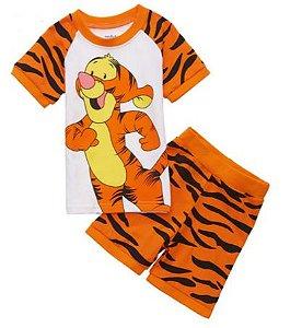 Pijama Curto Tigrão Infantil