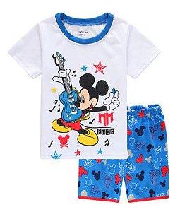 Pijama Curto Mickey Ver. 7 Infantil