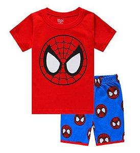 Pijama Curto Homem Aranha Ver. 9 Infantil