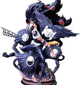 Estátua Kakuzu Akatsuki Jutsu Jiongu 45 Cm - Naruto Shippuden