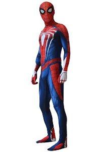 Cosplay Spider Man Versão PS4 Alta Qualidade - Adulto