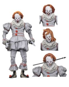 Pennywise Action Figure It A Coisa Stephen King - Neca Ultimate