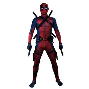 Cosplay Fantasia Deadpool Completa - Marvel