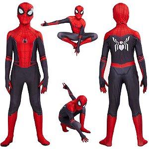 Fantasia Cosplay Homem Aranha Criança - Marvel
