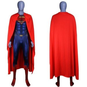 Fantasia Cosplay Superman Adulto - Dc Comics