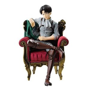Estátua Action Figure Levi Attack On Titan