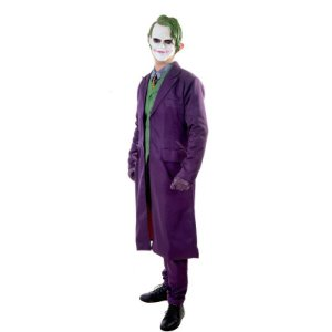 Fantasia Cosplay Coringa Completa Joker Batman - Dc Comics