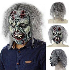 Máscara Látex Bruxa Monstro Halloween - Fantasias