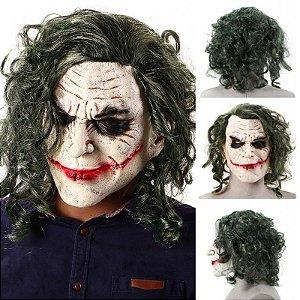 Máscara Látex Joker Coringa Halloween - Fantasias