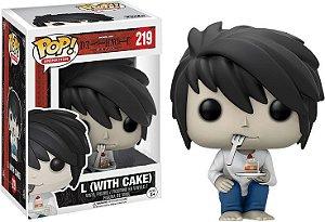 Funko Death Note L With Cake 219 - Funko Pop