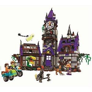 Mansão Misteriosa Scooby Doo 860 Peças - Blocos de montar