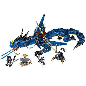 Ninjago Stormbringer 493 peças - Blocos de montar