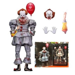 Pennywise Action Figure It A Coisa Stephen King Versão Ultimate Bloody - Neca