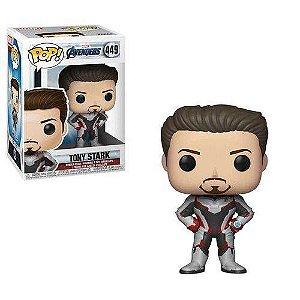 Funko Vingadores Ultimato 449 Tony Stark - Funko Pop