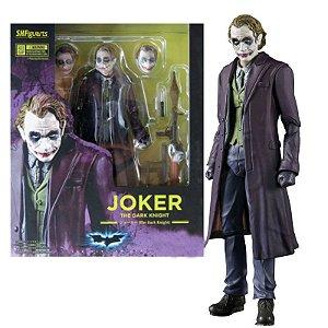 Boneco Action Figure Joker Coringa Cavaleiro das Trevas Heath Ledger - Dc Comics