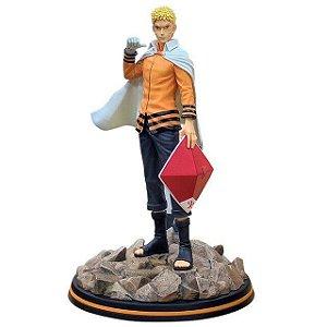 Naruto Uzumaki 7° Hokage Action Figure Estátuas 32 Cm Naruto Shippuden