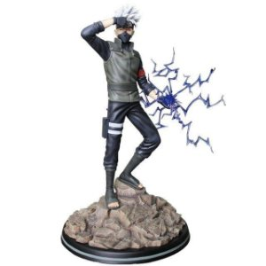 Kakashi Hatake Action Figure Estátua 30 cm Naruto Shippuden