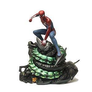 Estátua Homem Aranha Spider Man PS4 Sony Action Figure - Marvel