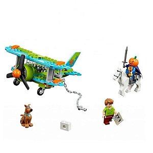 Blocos de Montar Scooby Doo Aventuras Mystery Plane 127 peças + 3 Personagens