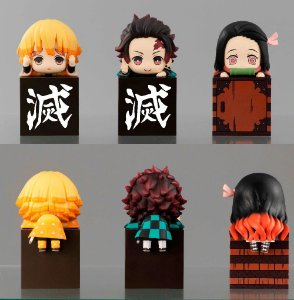 Kimetsu no Yaiba: Demon Slayer Kit com 3 personagens decorativos