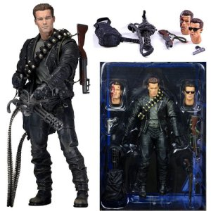Action Figure Terminator T-800 Exterminador do Futuro 2 - Neca