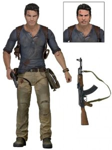 Nathan Drake Action Figure Uncharted 4 PS4 - Neca