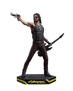 Johnny Silverhand Action Figure Estátua Cyberpunk 2077 - Dark Horse