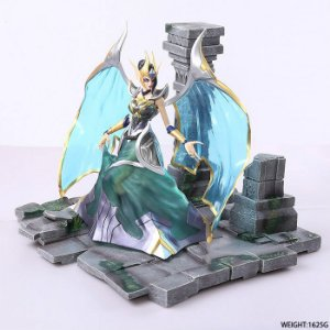 Morgana A Caída Estátua League Of Legends 27 cm