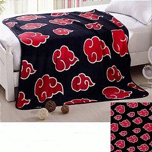 Cobertor Manto Casal Akatsuki 200 x 150 cm - Naruto Shippuden