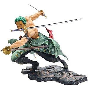 Figure Roronoa Zoro Versão Combate One Piece