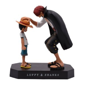 Luffy e Shanks Diorama One Piece