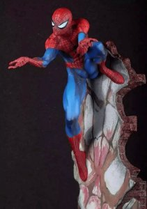 Homem Aranha Estátua 50 Cm Marvel