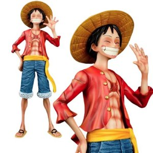Estátua Luffy 45 Cm Escala 1/4 - One Piece