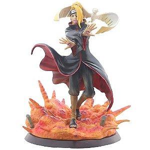 Estátua Deidara Akatsuki Naruto Shippuden - Animes Geek