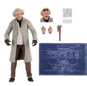 Doutor Brown De Volta Para o Futuro Ultimate - Neca